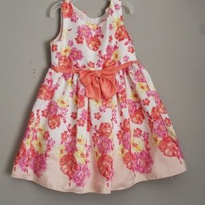 Youngland Floral formal dress